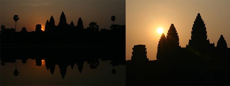 zonsopkomst Angkor Wat