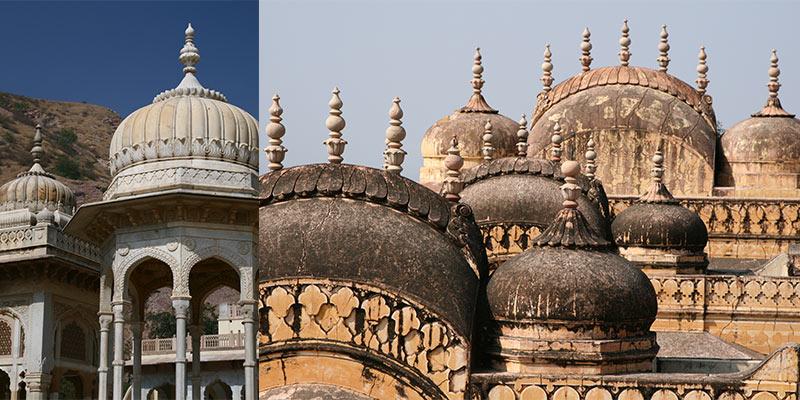 India forten en Paleizen