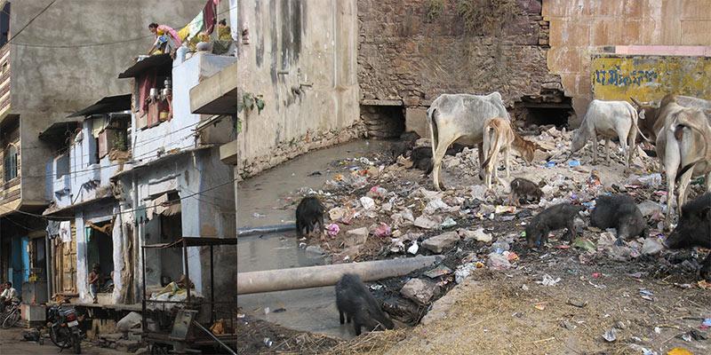 Vieze Straten India