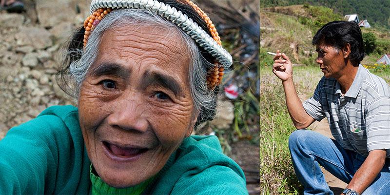 mensen Cordillera Filippijnen