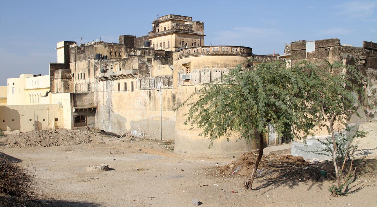 Mahansar: slapen in een kasteel