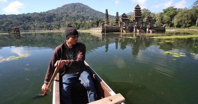 Bali zonder toeristen