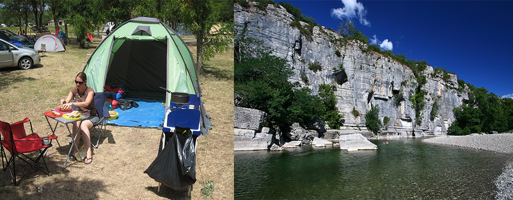 Camping Peyroche, rustige camping in de Ardèche