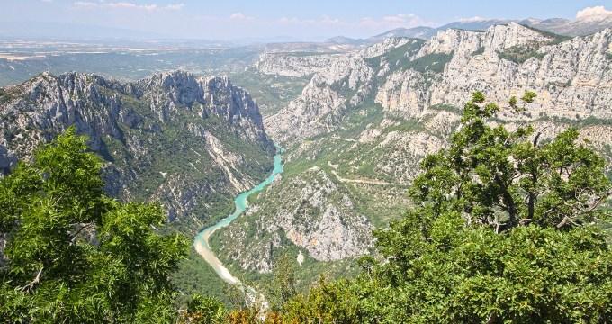 Gorges du Verdon Roadtrip Frankrijk