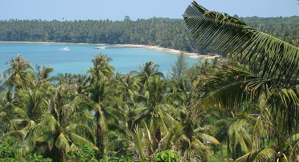 Koh Mak in de Koh Chang archipel