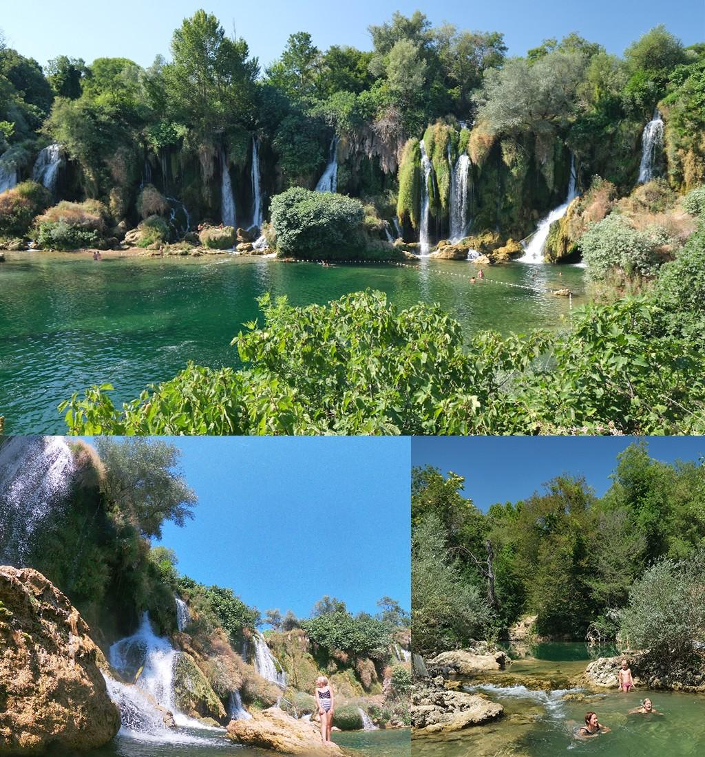 Kravica watervallen