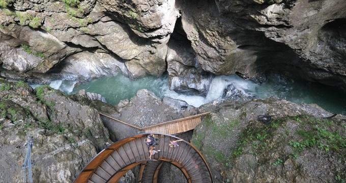 Lammerklamm of Liechtensteinklamm Salzburgerland