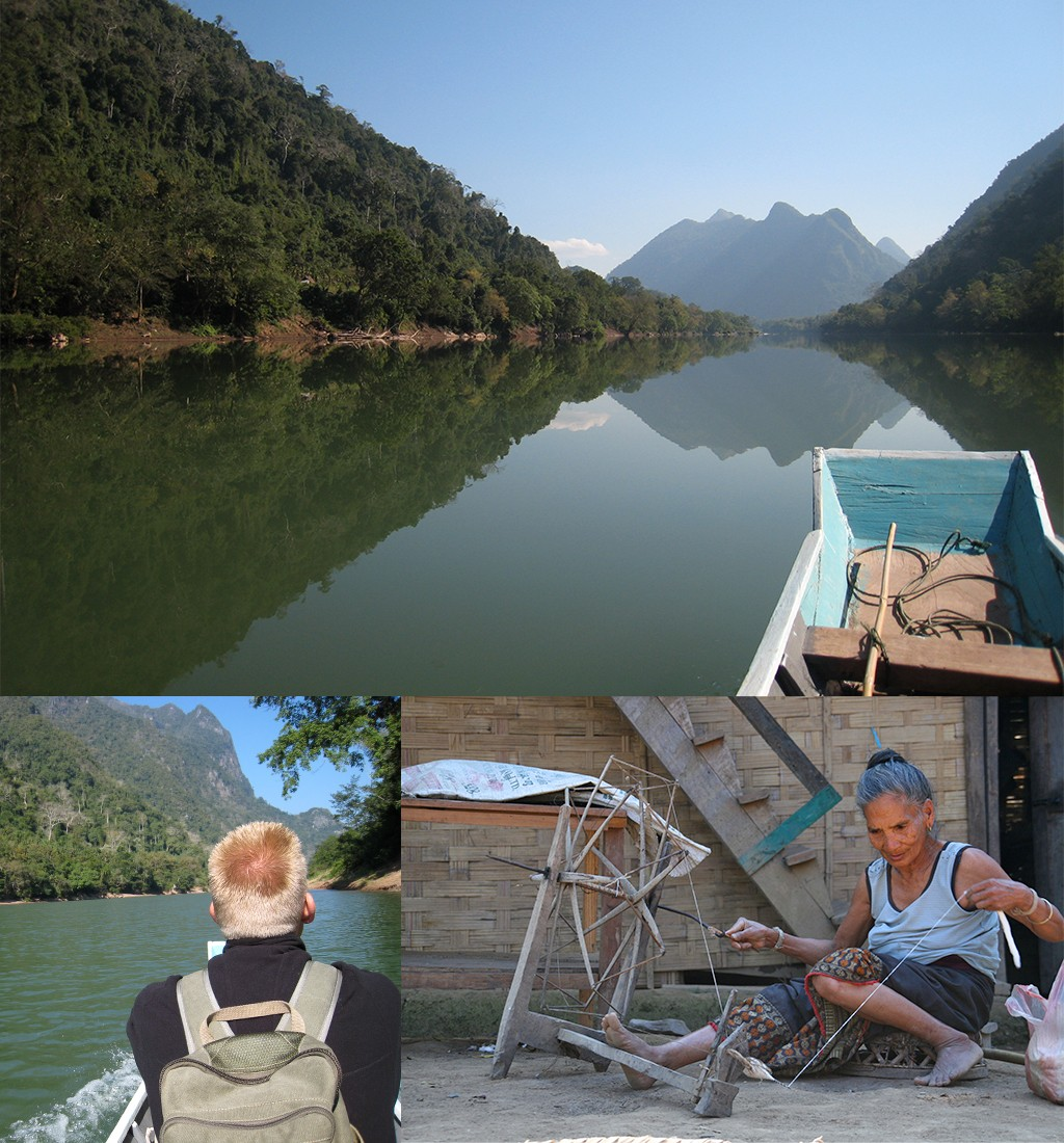 Laos off the beaten track - Ou rivier