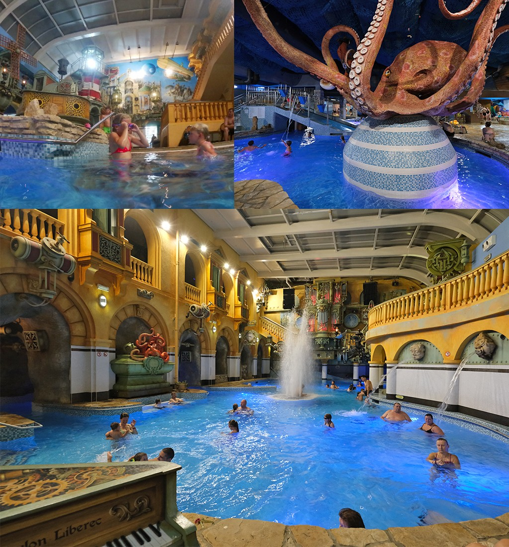 Liberec met kinderen aquapark
