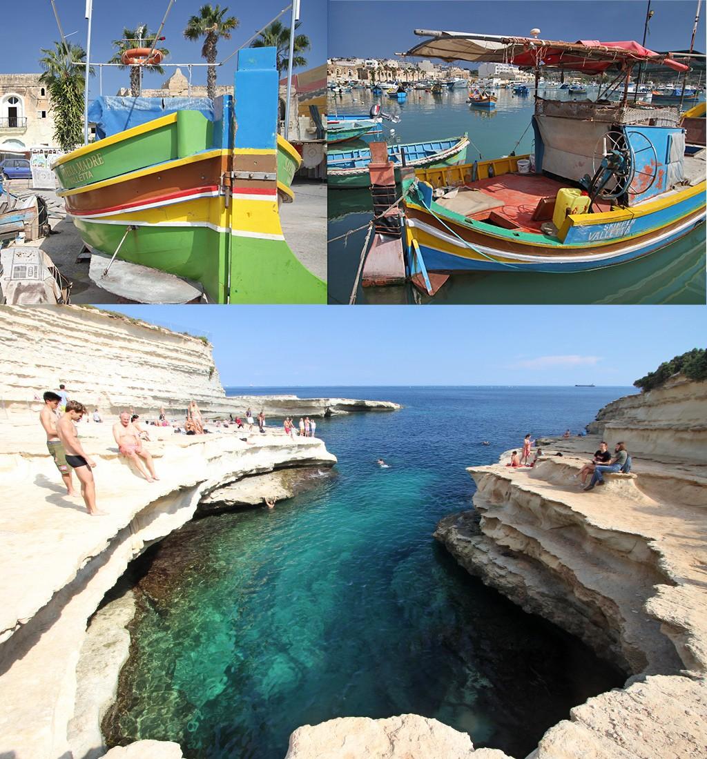 Malta bezienswaardigheden - Marsaxlokk