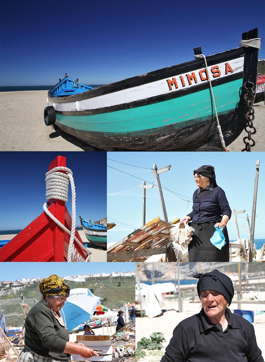 Nazaré stoere vissers
