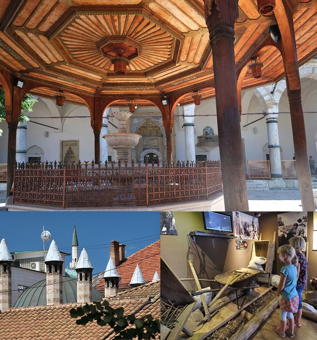 Oosterse sferen en indrukwekkende musea in Sarajevo