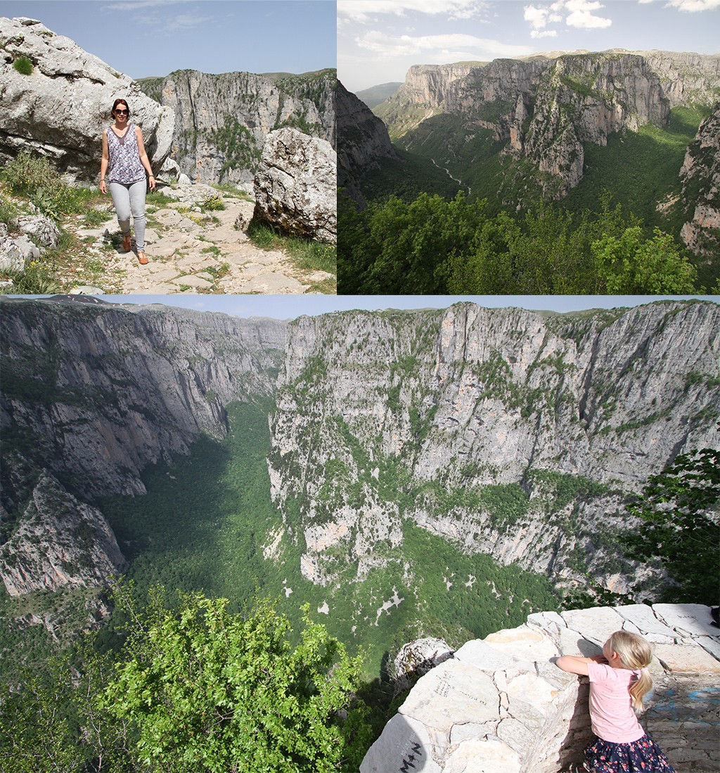 Oxya viewpoint Vikos kloof Zagoria