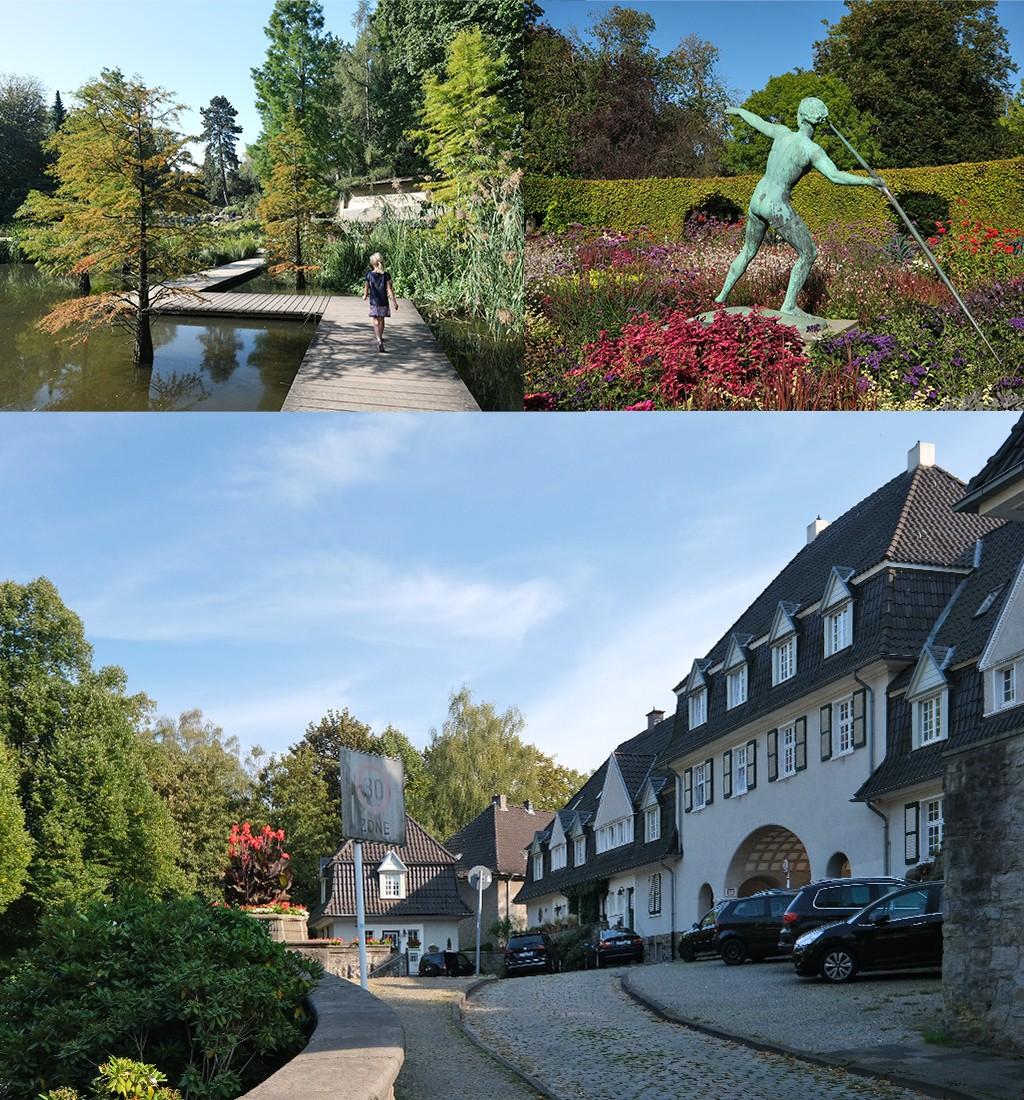 Ruhrgebied accommodatie Essen bij Grugapark en Margarethenhöhe