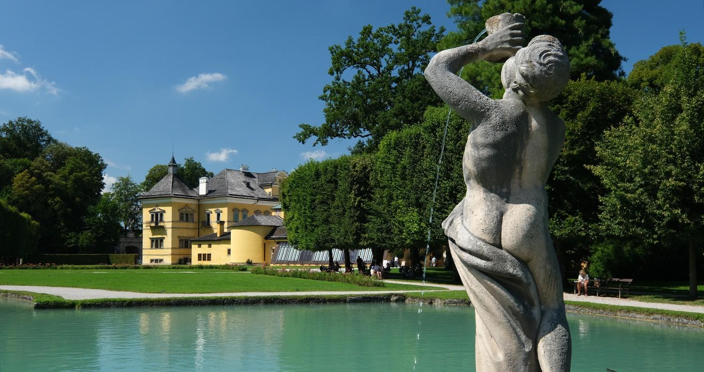 Schloss Hellbrunn waterspelen Salzburg