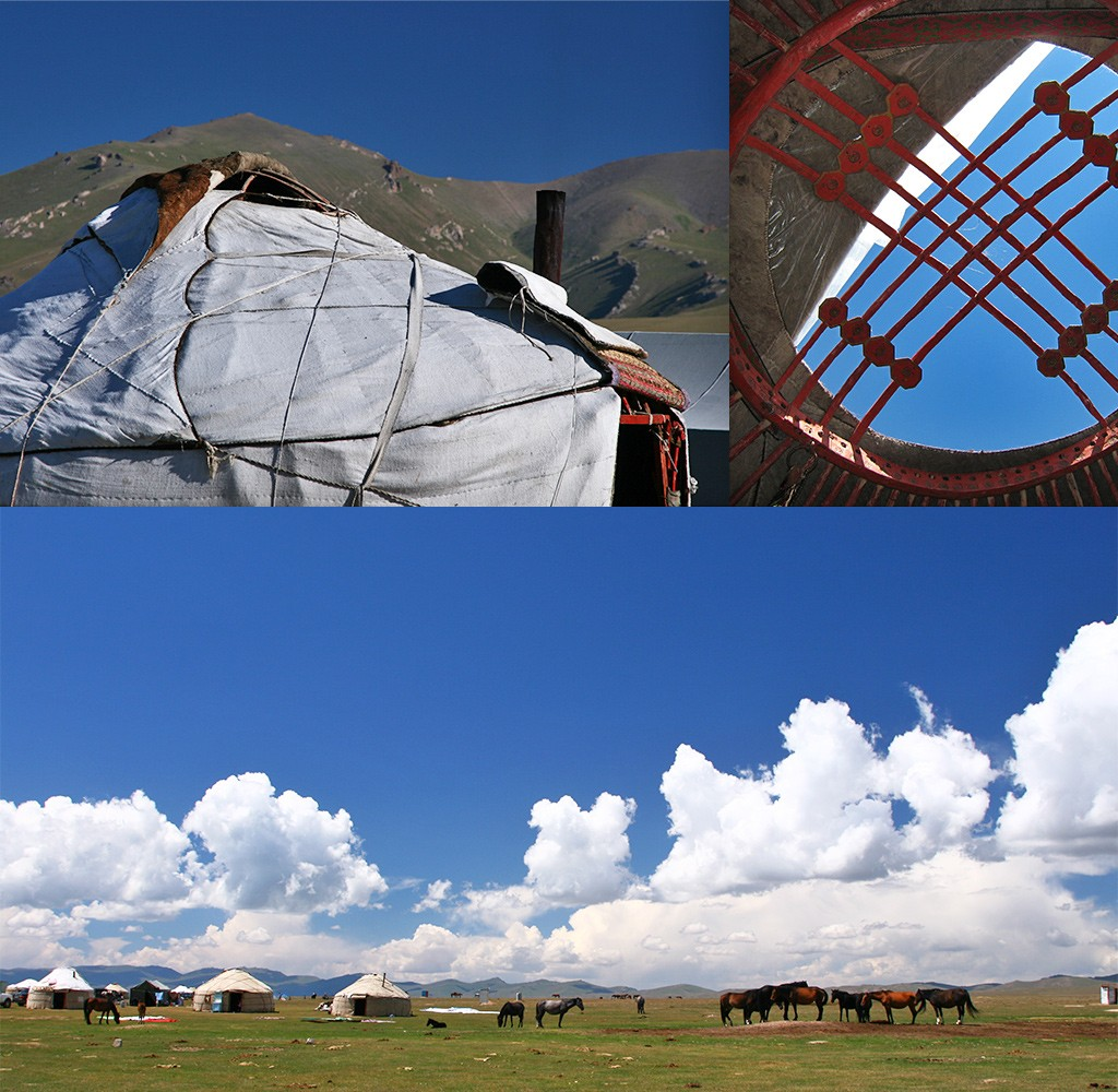 Song-Köl tussen Kochkor en Naryn
