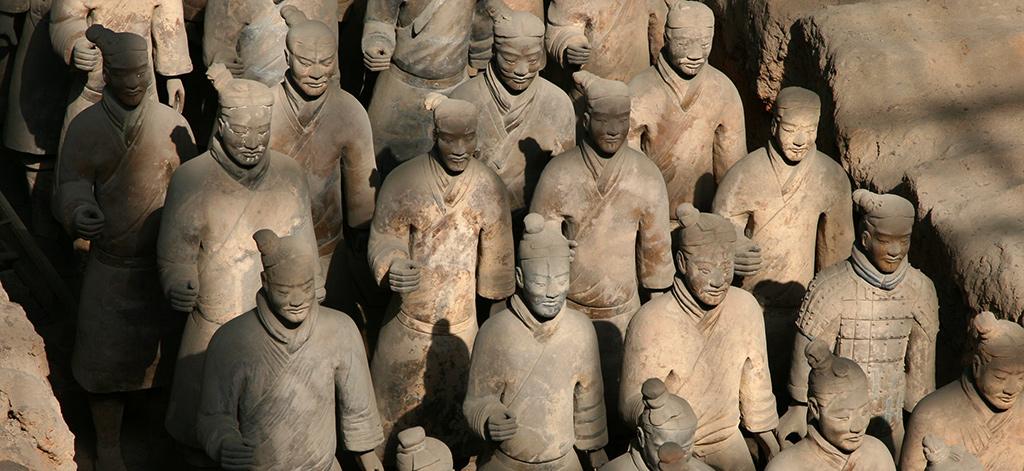 Terracotta leger Xian