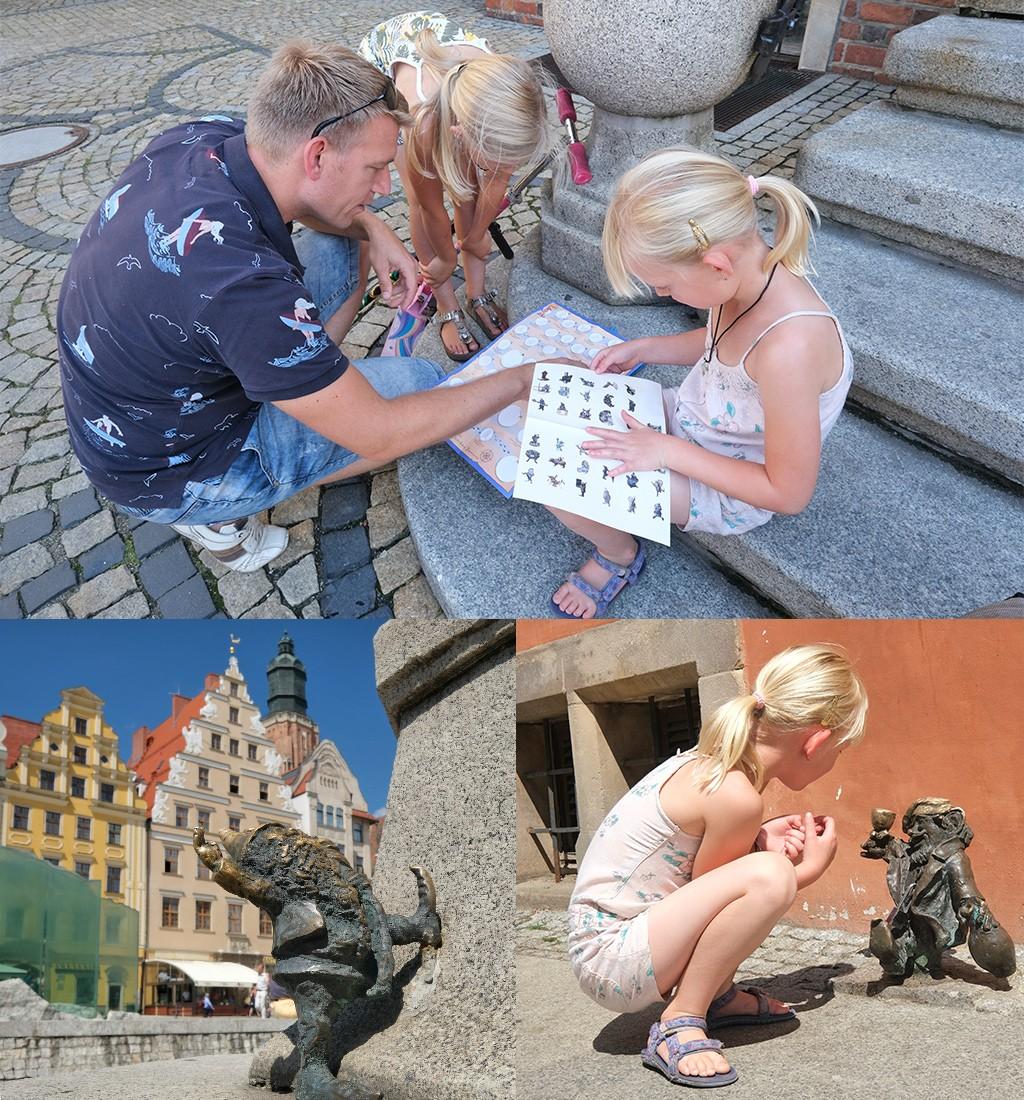 Wroclaw kabouters zoeken
