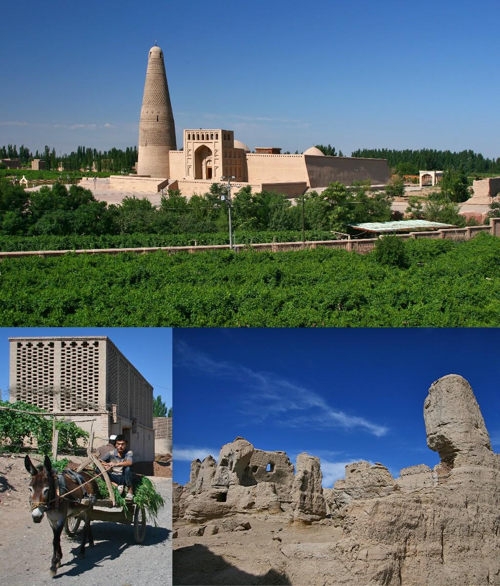 Xinjiang - Turpan en Jiaohe