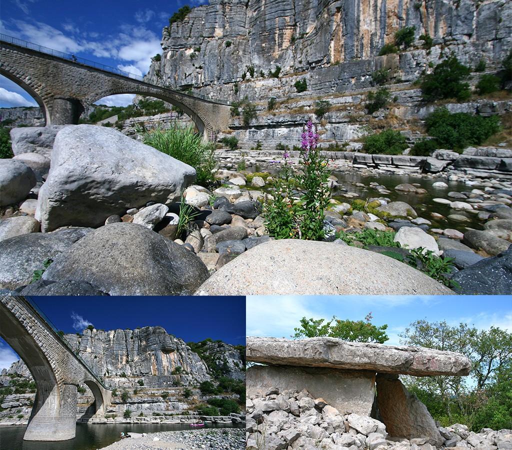 begin route Zuid-Frankrijk Ardeche