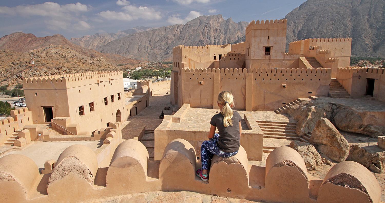de indrukwekkende forten van Oman