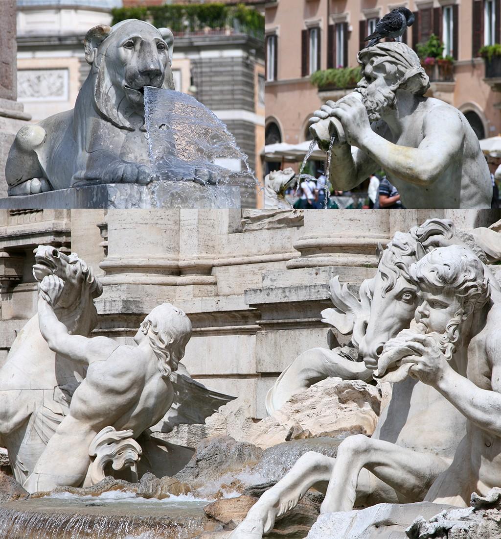 fonteinen Rome