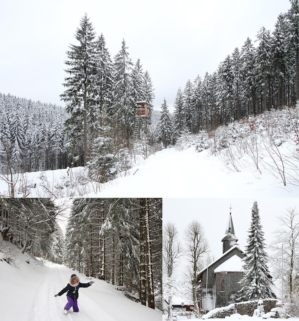fotograferen winterse wandeling
