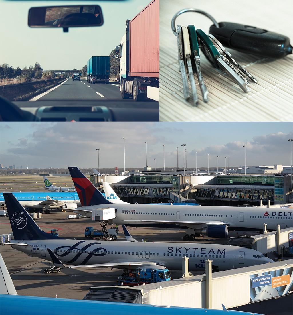 goedkoop parkeren Schiphol - sleutels afgeven