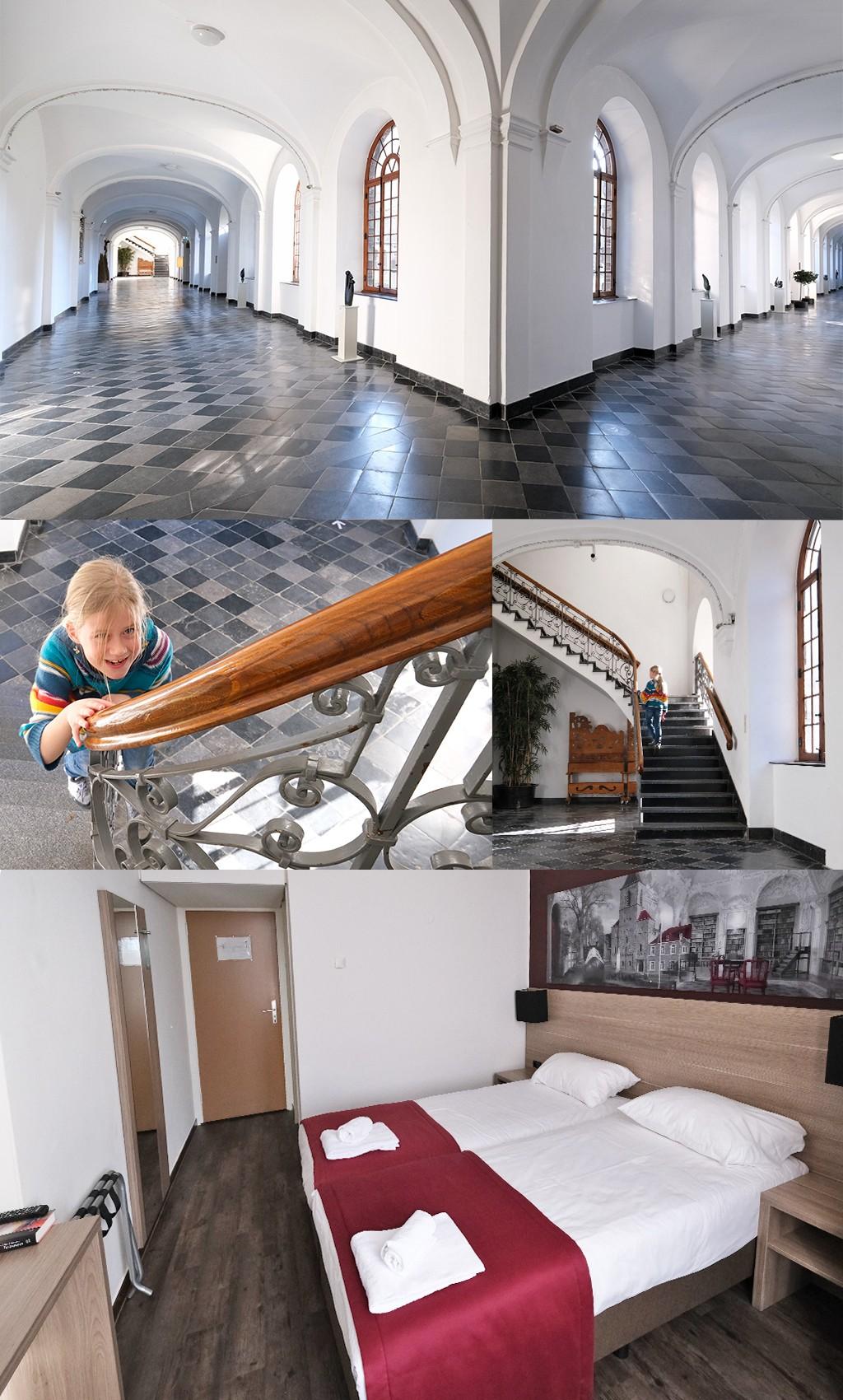 interieur en kamer Abdij Rolduc
