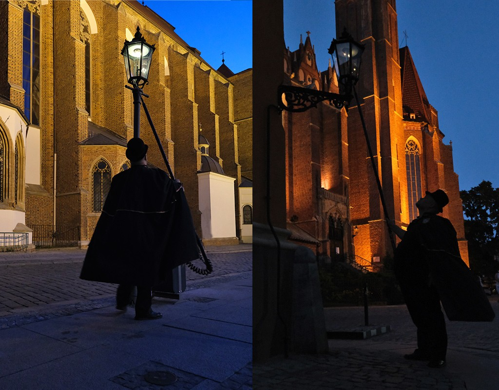 lantaarnaansteker Wroclaw