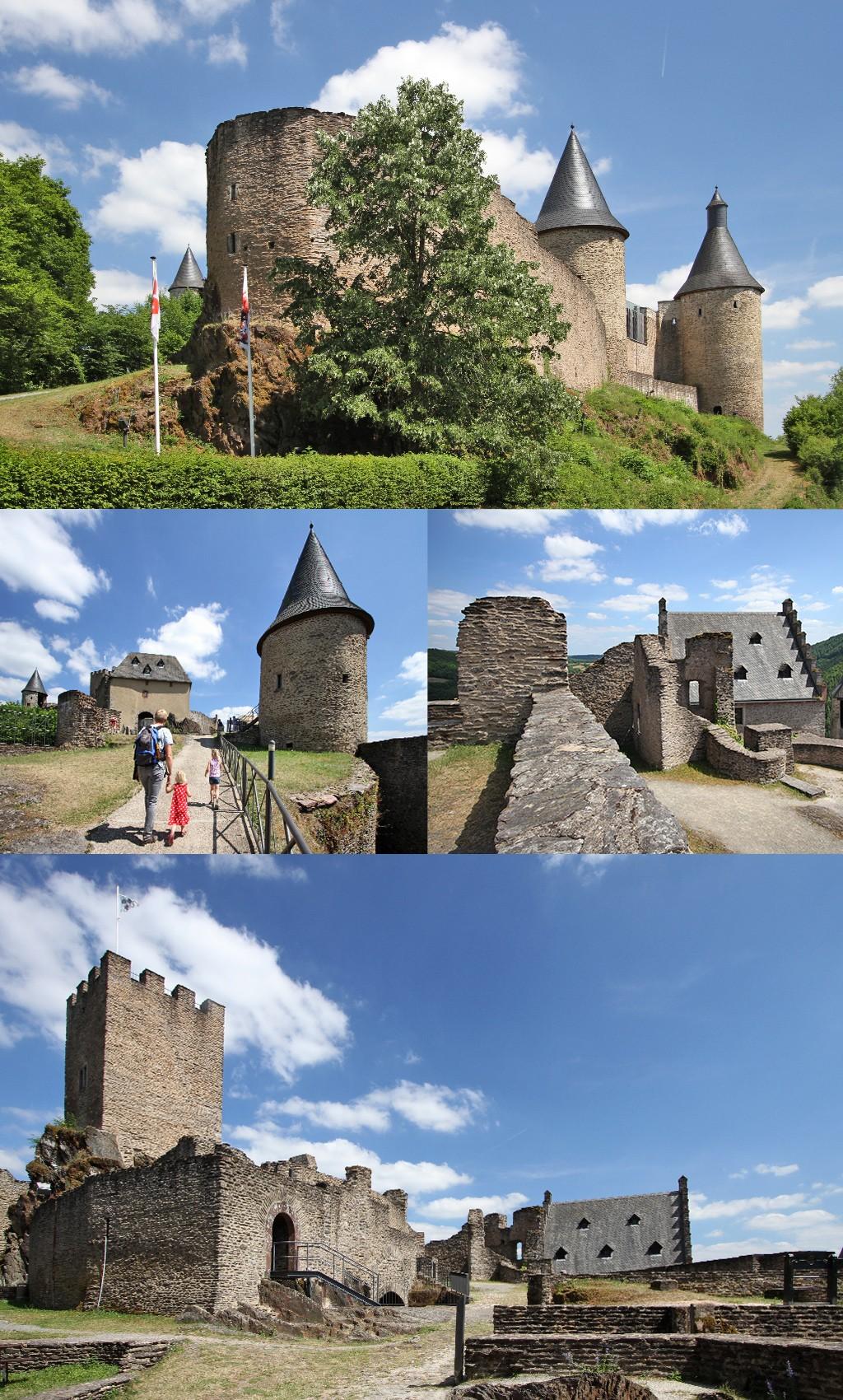 mooiste kastelen Luxemburg - Bourscheid