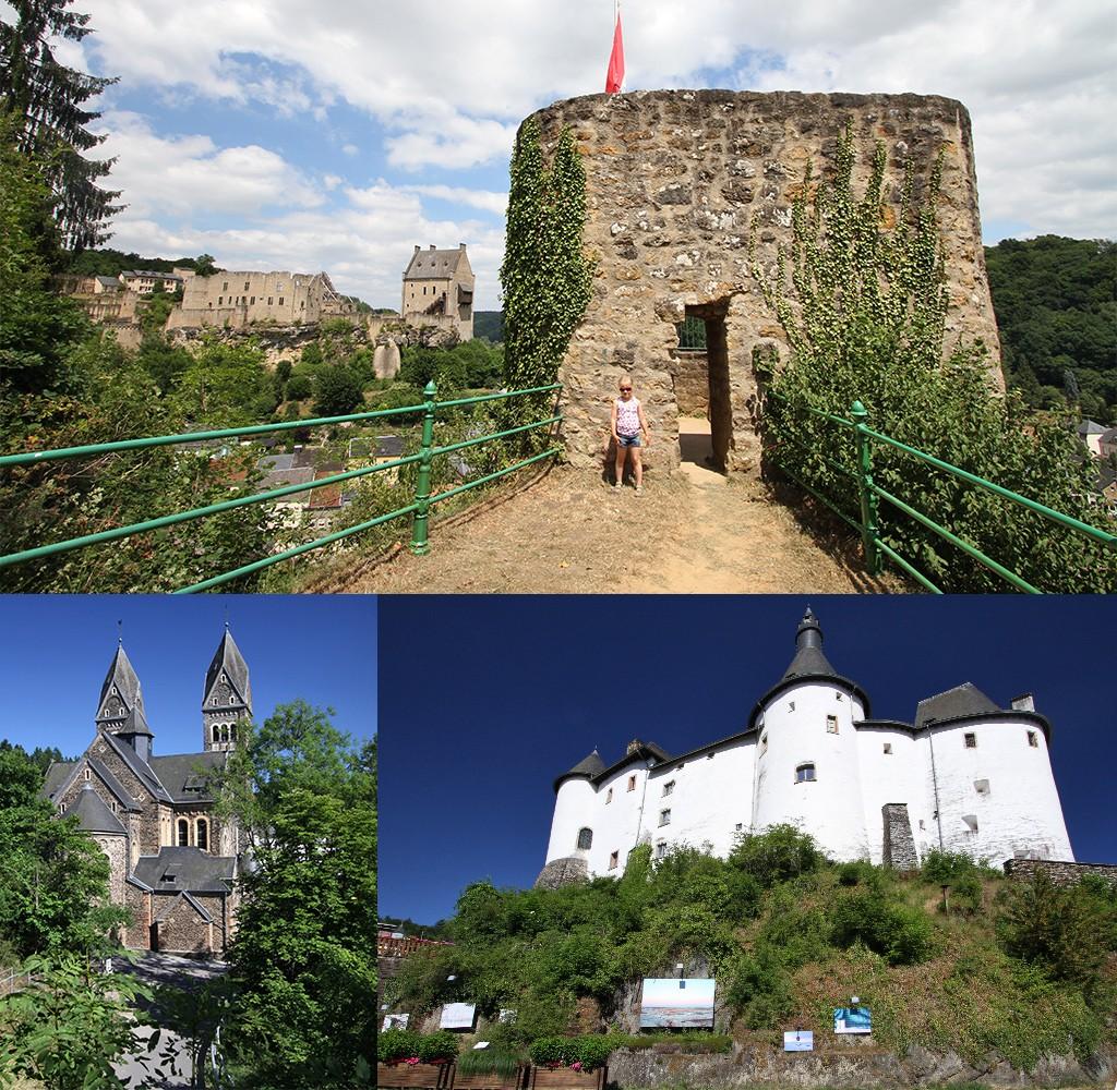 mooiste kastelen Luxemburg - Larochette - Clervaux
