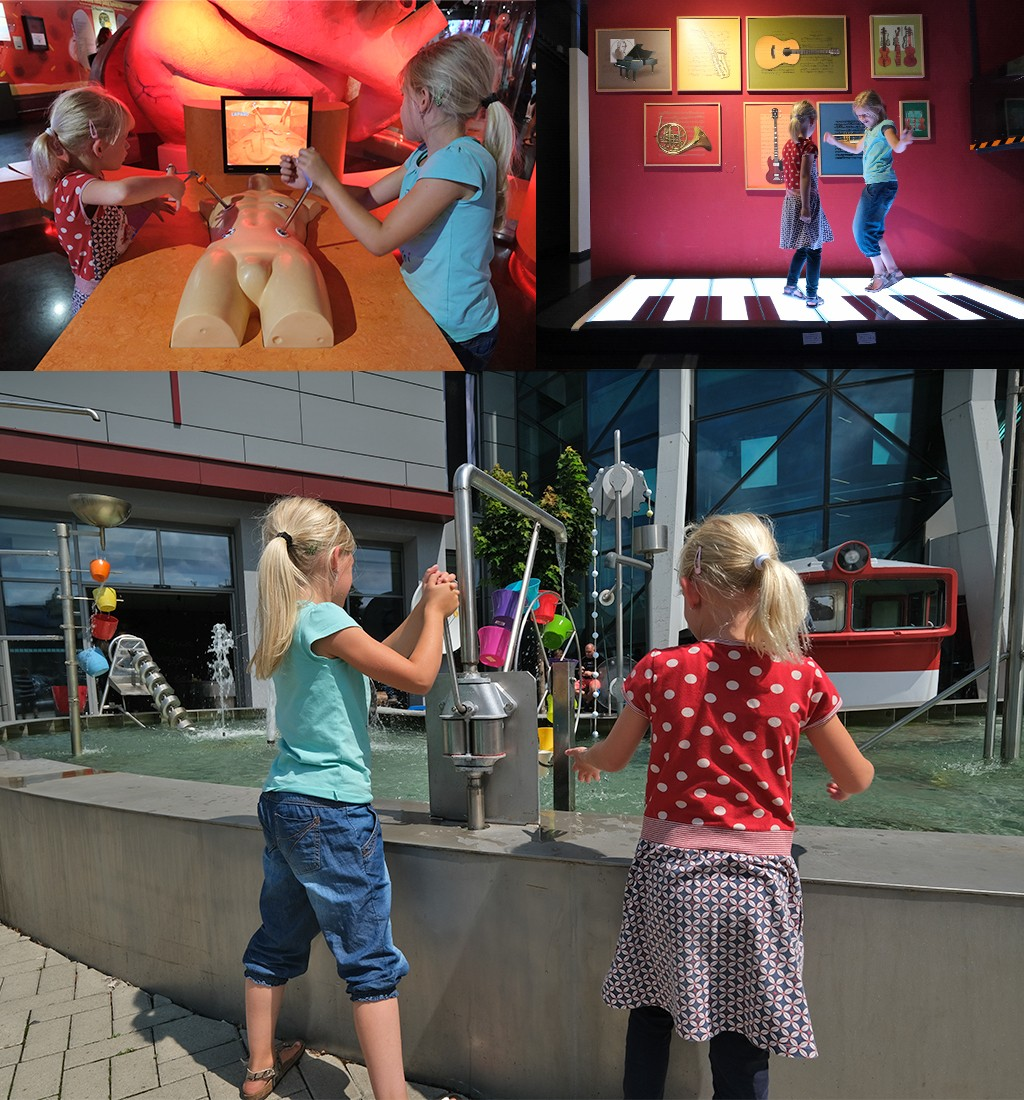 opereren dansen met water spelen IQLandia
