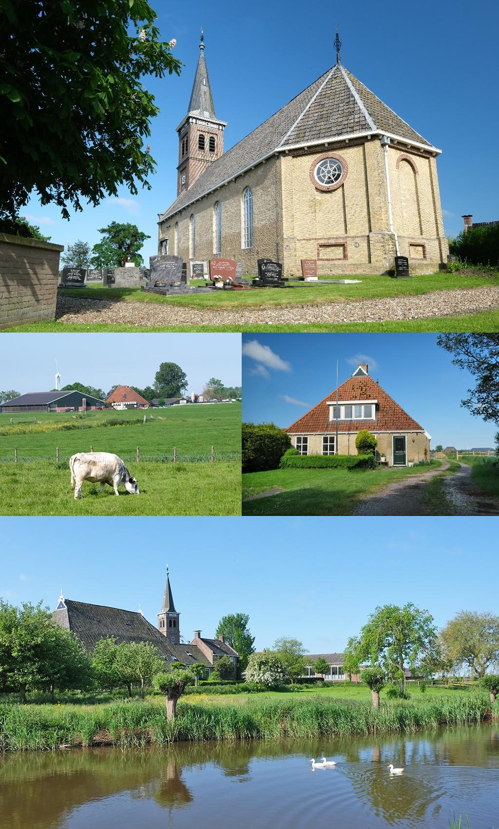 overnachten in een kerk in Schettens Friesland