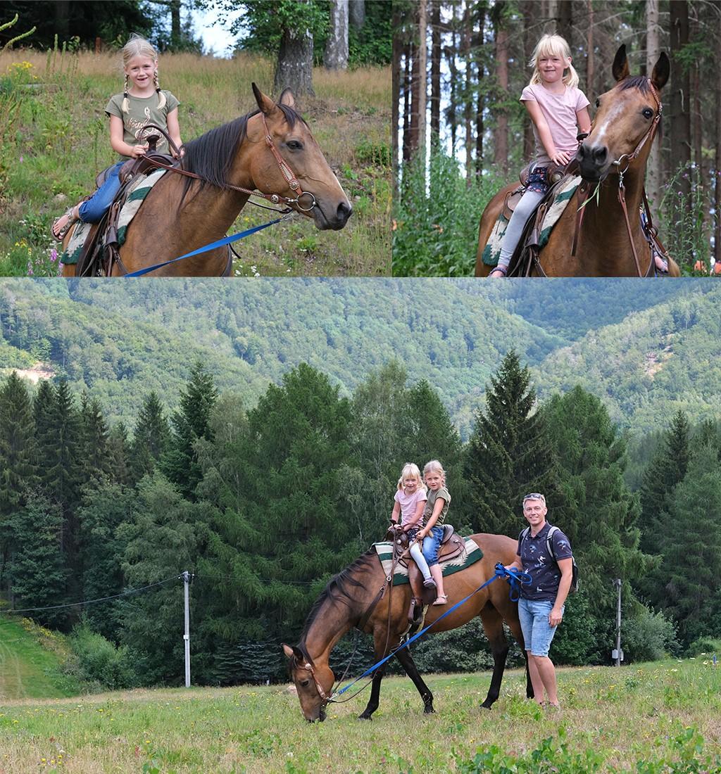 paardrijden Klíny Tsjechië