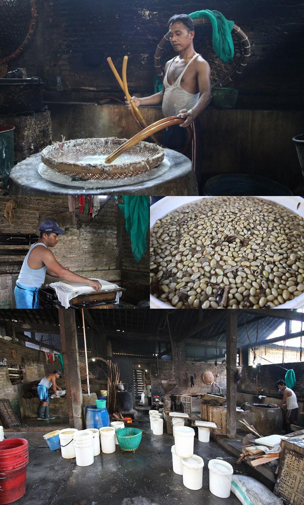 photo stories - tofufabriekje Yogyakarta