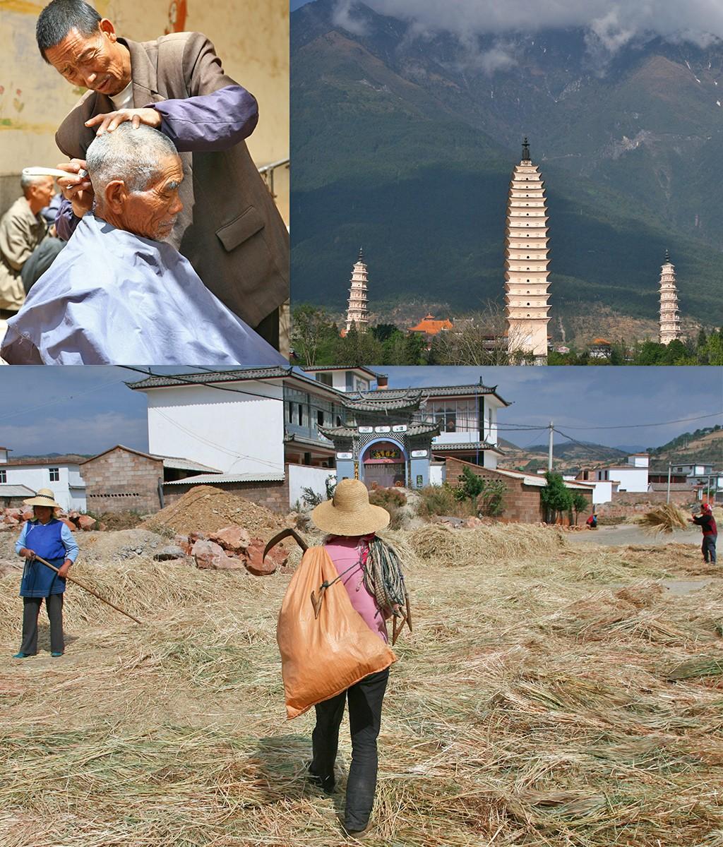 rondom Er Hai Lake Yunnan