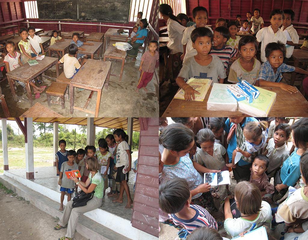 schooltje bij Attapeu