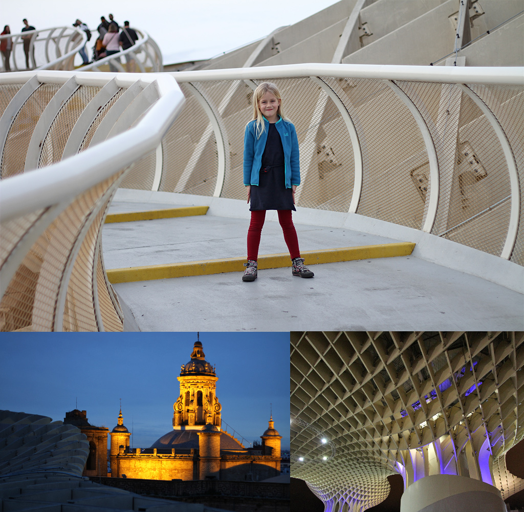 stedentrip Sevilla met kinderen - Metropol Parasol