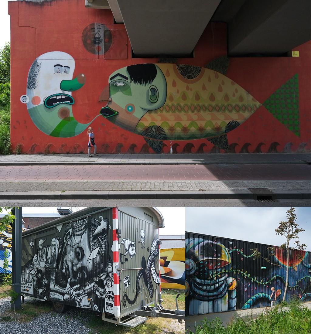 steeds meer street art Heerlen