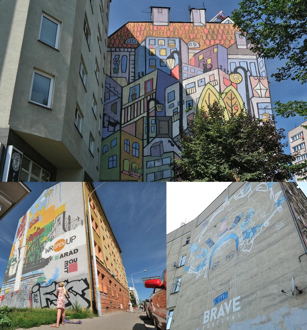 street art Wroclaw noordoosten centrum