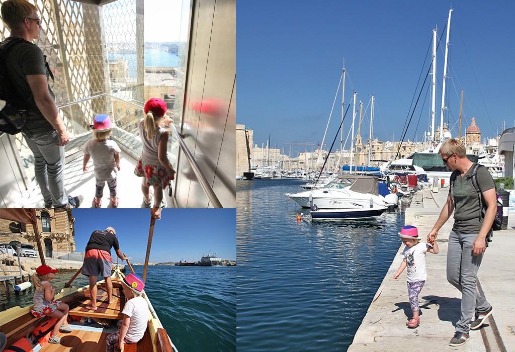 Valletta stedentrip met kinderen