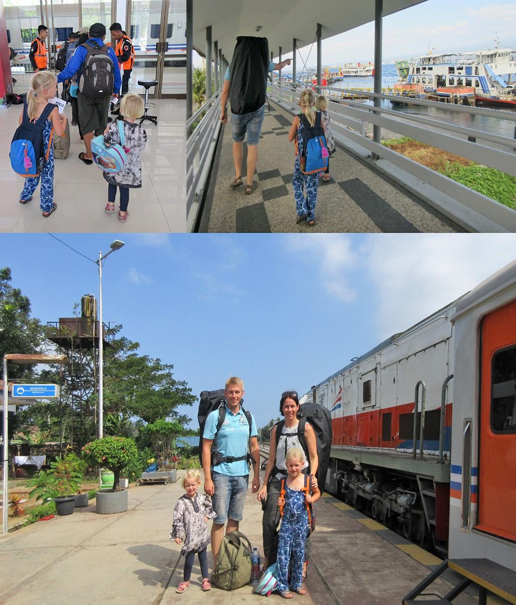 verre reis met kinderen - neem niet te veel mee