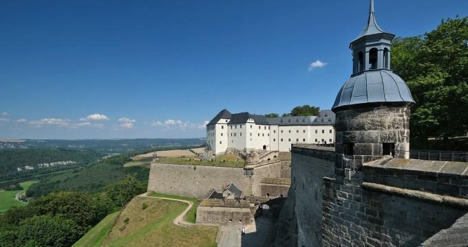 vesting Königstein Saksen