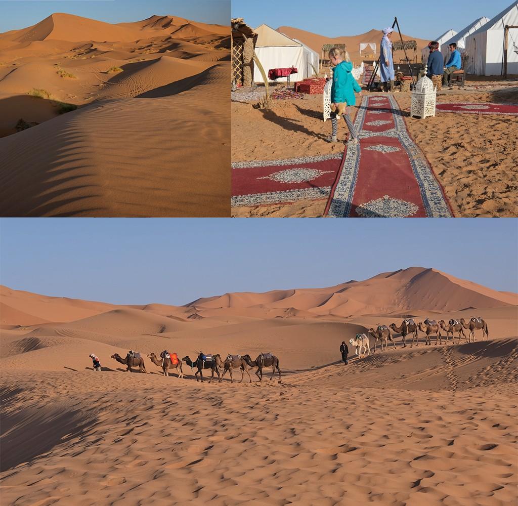 wakker worden in de Sahara
