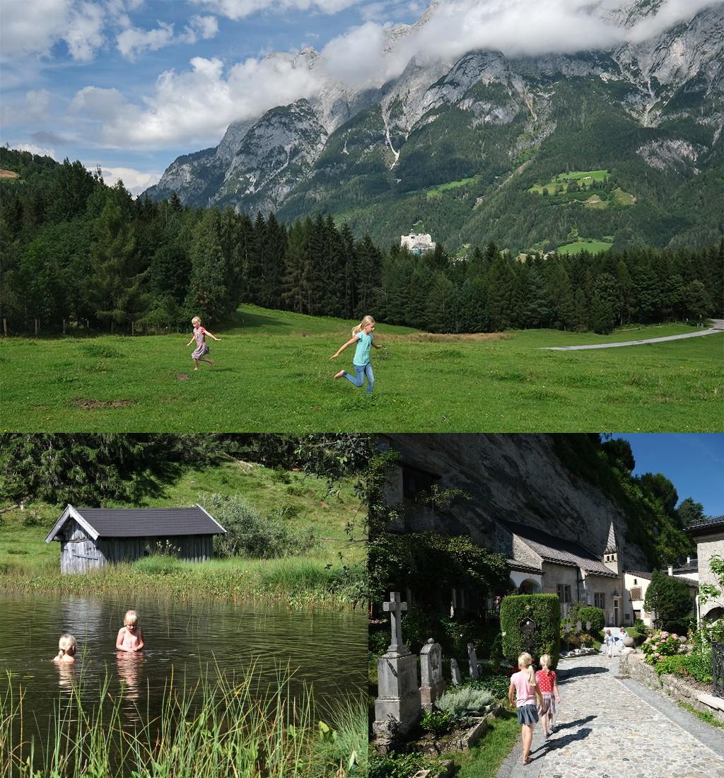 wandelen zwemmen stad Oostenrijk