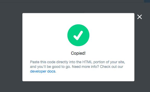 copy code twitter