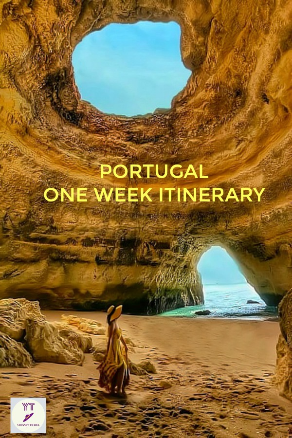 Are you looking for a short escape to a perfect travel destination? Look no further! Here is your itinerary for one week in Portugal. #Portugal #Portugalitinerary