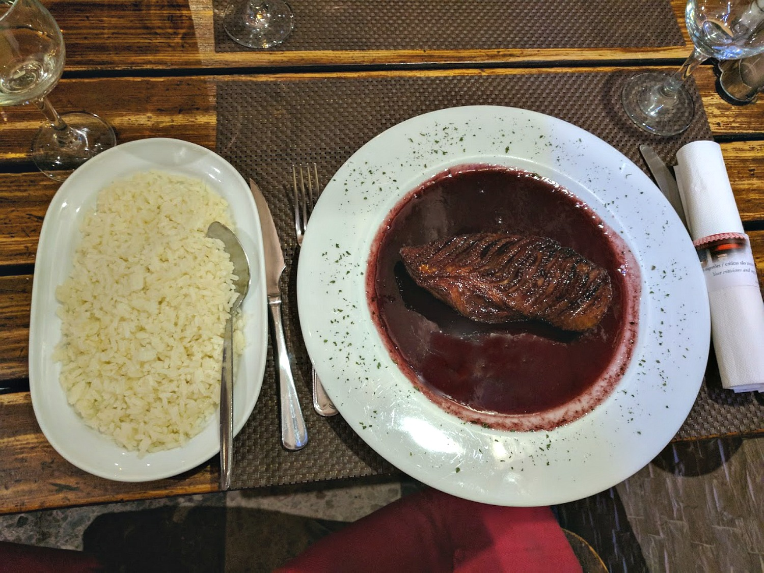 11 Top Reasons to Visit Portugal. Introducing another superb dish, a duck in a port reduction. Not only delicious but price at about $15!