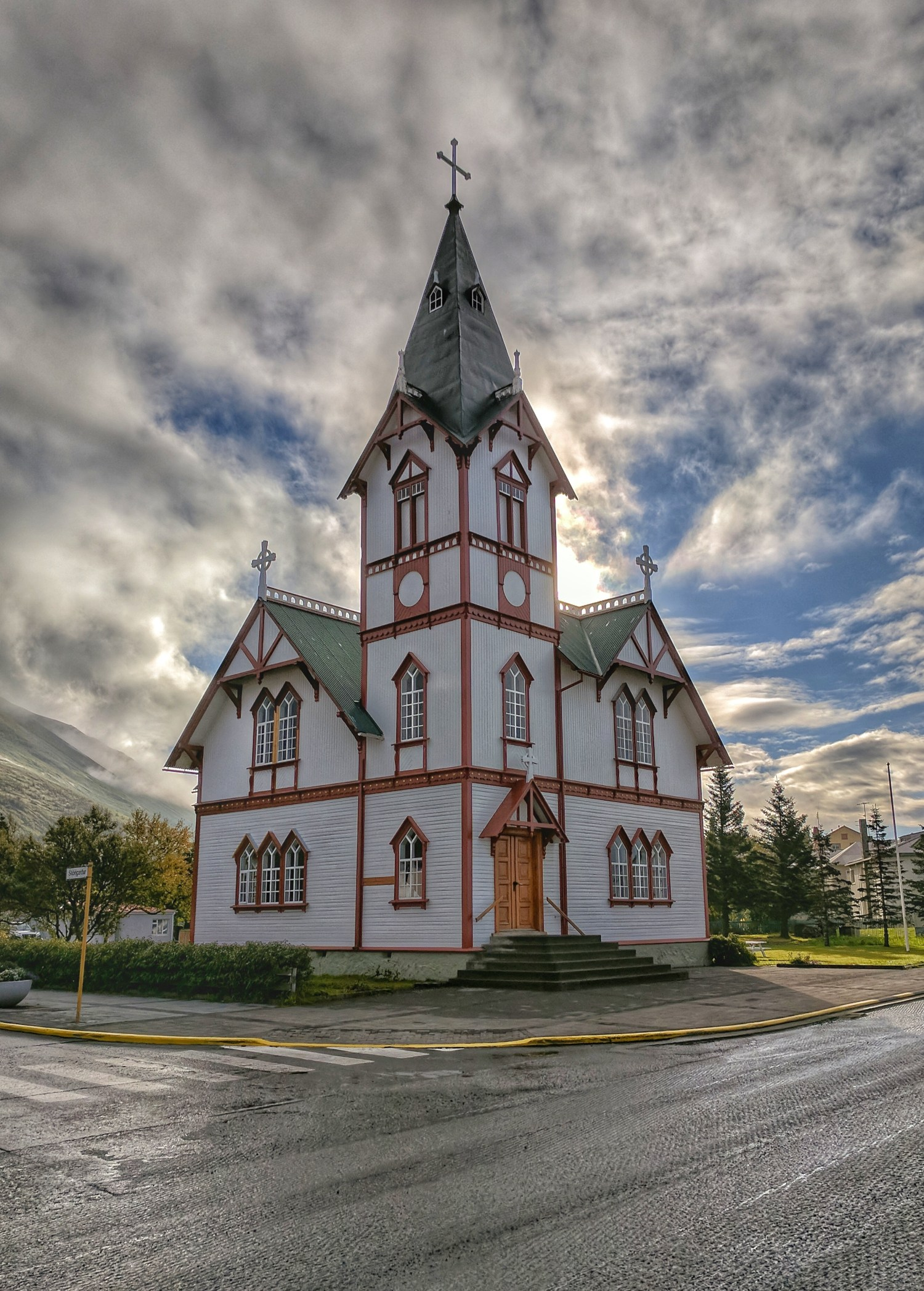 10 top reasons to visit Iceland. Adding a distinctly quaint feel to the town, one of the most significant landmarks in Húsavík is the church.